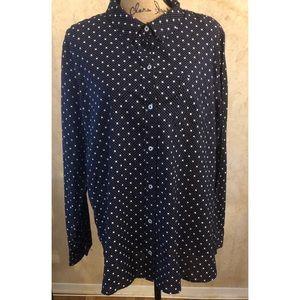 Gap Factory Boyfriend Fit Shirt XXL(Dark Navy)